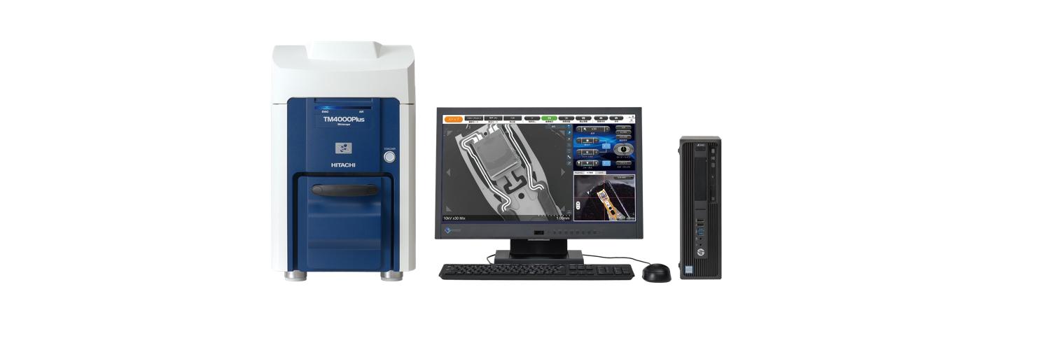 TM4000 SEM da banco Hitachi High Technologies